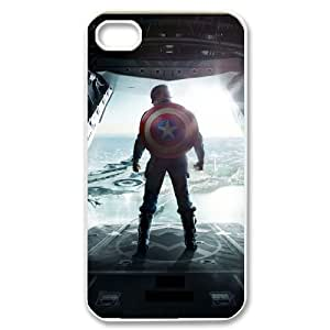 C-EUR Customized Print Captain America 2 Pattern Back Case for iPhone 4/4S