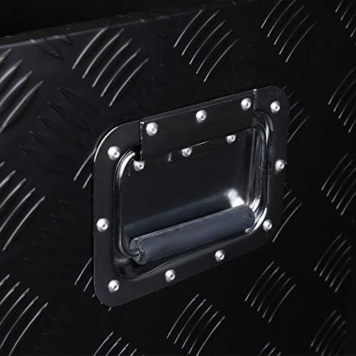 Spec-D Tuning Heavy Duty Aluminum Utility Chest Tool Box Storage with Lock 49x15x15
