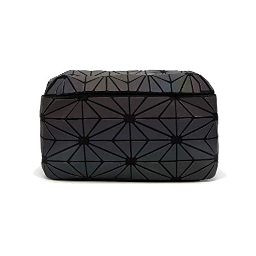 Black Zaino Viaggio Luminoso Diamond Bag Fashion Da Stitching Scrub Zaino zZUvZqnx