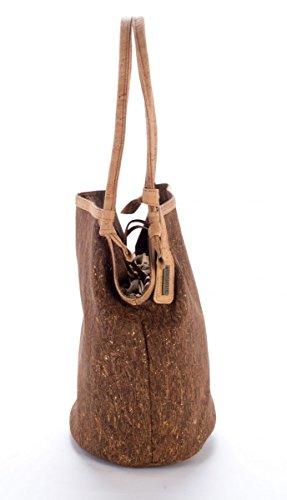 Kork-Tasche, Elegante Beuteltasche, Tasche-Kork
