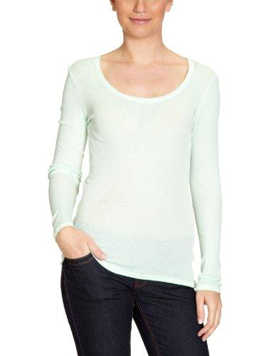 Rich & Royal - Camiseta de manga larga para mujer Verde (Jade Mint)