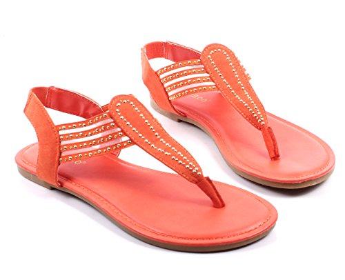 Bambu Mode Slip På Bara Stil Blinkslingbacks Lägenheter Kvinna Tillfälliga Sandaler Skor Nya Utan Box Apelsin