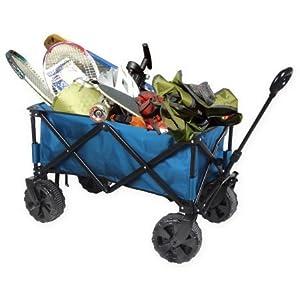 Ozark Trail All-Terrain Wagon Utility Cart, Blue