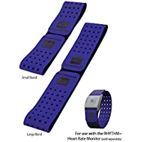 Scosche Rhythm+ Optical Heart Rate Monitor Armband Replacement Strap Blue