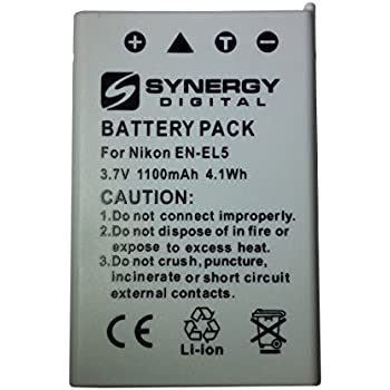Amazon Com Nikon Coolpix P500 Digital Camera Battery