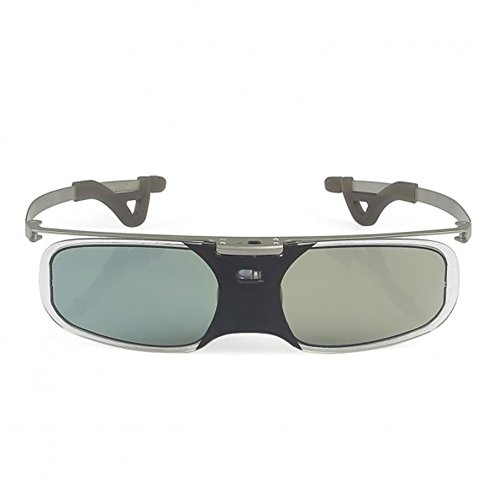 SainSonic Active 3D Glasses (1 Pack, Bravia Silver)