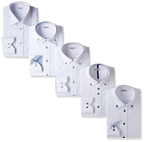 /(アトリエサンロクゴ/) ビジネスYシャツ sa02 形態安定 5枚セット atelier365 クールビズ// ワイシャツ 半袖