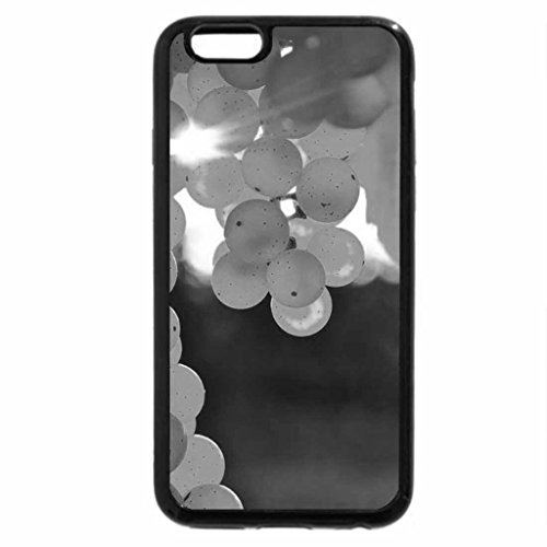 iPhone 6S Case, iPhone 6 Case (Black & White) - yellow grape bunch