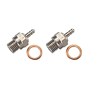 2pcs 70117 Duty Glow Plug #3 N3 Hot Spark Nitro Engine Parts Replace OS 8 For Traxxas Kyosho HSP HPI Redcat 1/8 1:10th RC Car Truck Buggy