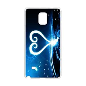 Samsung Galaxy Note 4 White Cell Phone Case Kingdom Hearts TGKG597862