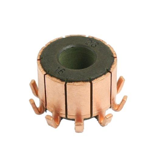 Commutator End Bearing (uxcell 8mm x 18.1mm x 13.8mm Copper Case Auto Alternator Motor Power Tool Commutator)
