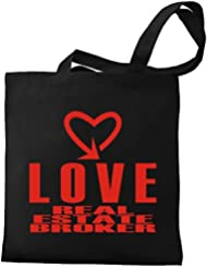 Eddany Love Real Estate Broker cool style Canvas Tote Bag