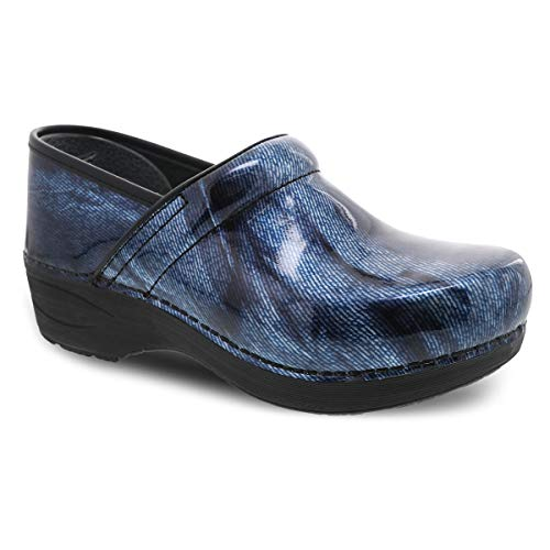 Dansko Women's XP 2.0 Denim Clogs 7.5-8 M US (Shoes To Wear With Light Blue Jeans)