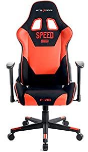 GTRACING High Back Gaming Chair Fabric And PU Racing Chair Backrest And Height Adjustable E-sports Chair Ergonomic Computer Office Chair Furniture by GTRACING