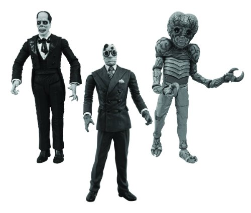 Diamond Select Toys Universal Monsters: Black and White Legacy Series 3 Figure Set