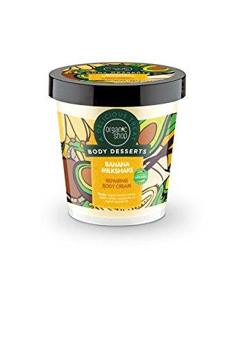 Organic Shop Body Desserts Repairing Body Cream Banana Milkshake 450ml