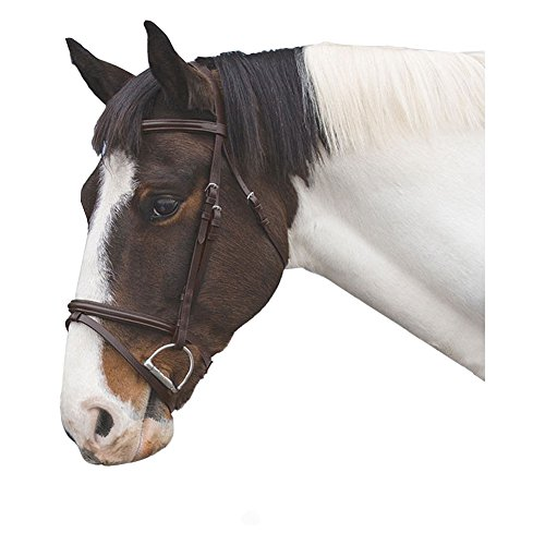 - Loveson Leather Bridle Horse Brown