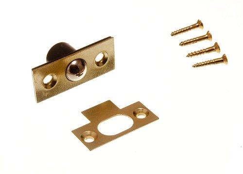 balles rattraper Loqueteau à bille tubulaire avec vis de 16mm 5/8 pouces (pack de 2) DIRECT HARDWARE