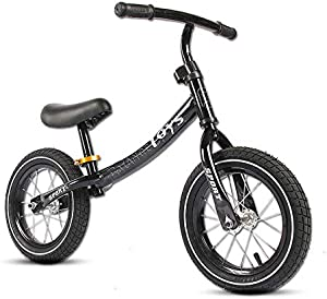 GAOLIQIN Balance Bike, Lightweight No-Pedal Toddler Bike,Walking Bicycle,Air-Filled Rubber Tires,for Kids Ages 18 Months to 6 Years