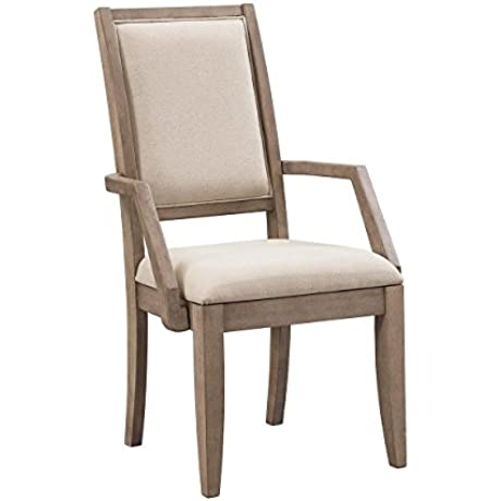 Food Wine Harvest Collection Arm Chair Set Of 2 Natural Wash