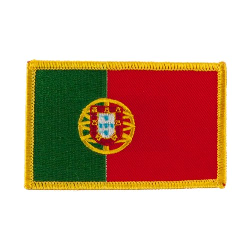 Europe Flag Embroidered Patches - Portugal OSFM