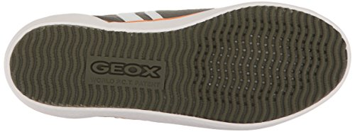 orange Verde Zapatillas J I Geox Kilwi Para Niños military w8YFp