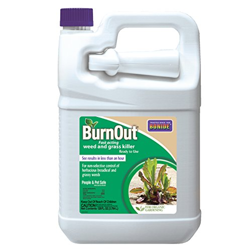 Animal Burnout - Bonide (BND7492) - Ready-to-Use Burnout, Fast Acting Weed and Grass Killer (1 gal.)
