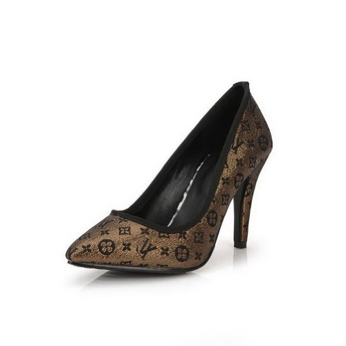 Spikes High Stoff Womans Heel Frosted UK Stilettos Schwarz Closed Pumps Assorted VogueZone009 5 Farben Toe 2 w0gX10x