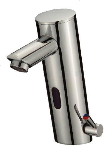 Hands Free Automatic Sensor Bathroom Faucet Chrome Finish by Cascada Showers