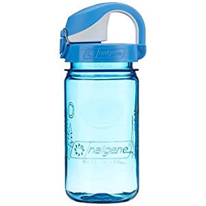 Nalgene Kids Forest OTF Bottle, 12 oz, Blue