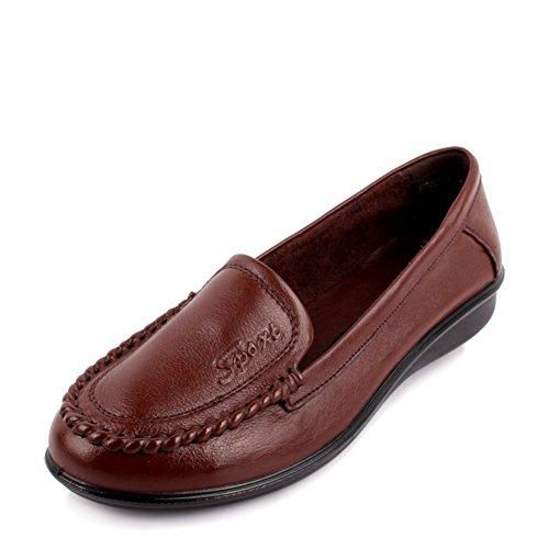 Zapatos de mujeres/Zapatos de trabajo/ fondo suave zapatos para las mujeres mayores/Madre con zapatos planos/Zapatos de mujer A
