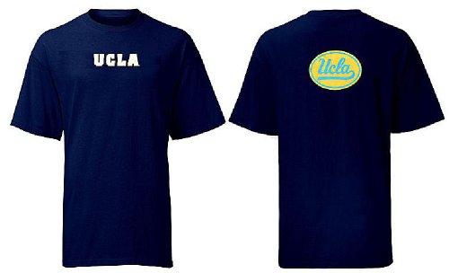 adidas UCLA Bruins Navy Blue Prime Time T-shirt (Large)