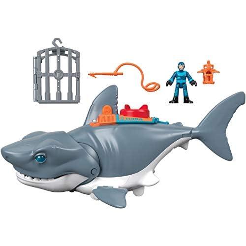 Imaginext DC Super Friends Batman Tiburón Megamandíbulas Juguetes niños 3 años Mattel GKG77