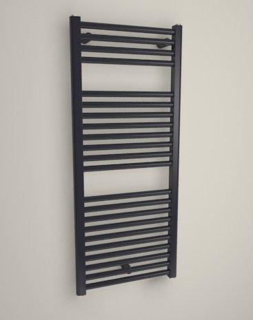 Coral- – Radiador eléctrico para toallas – incluye termostato Forte – Design plana 695 x