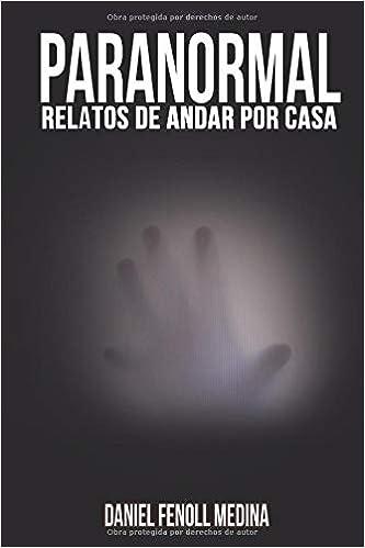 Paranormal: Relatos de andar por casa: Amazon.es: Fenoll Medina, Daniel: Libros