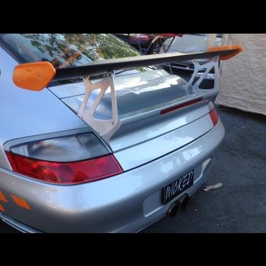 Porsche 996 Rear Wing - Porsche 997.2 GT3RS Rear Trunk with Carbon Fiber Wing Spoiler for the 996 Turbo