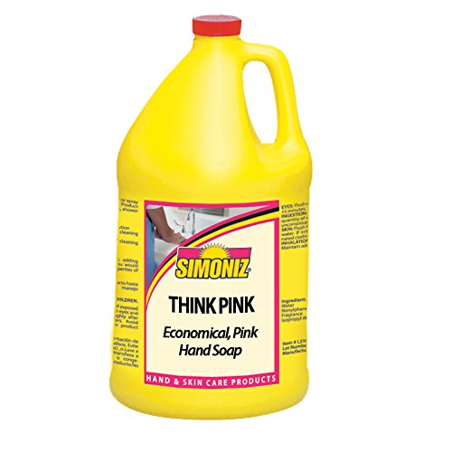 Simoniz ST1075004 Think Pink Hand Soap, 1 gal Bottles per...
