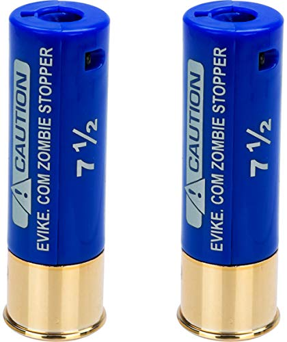 Evike Zombie Stopper 30 Round BB Holding Shells for Multi & Single-Shot Airsoft Shotguns (Color: Blue / 2 Pack)