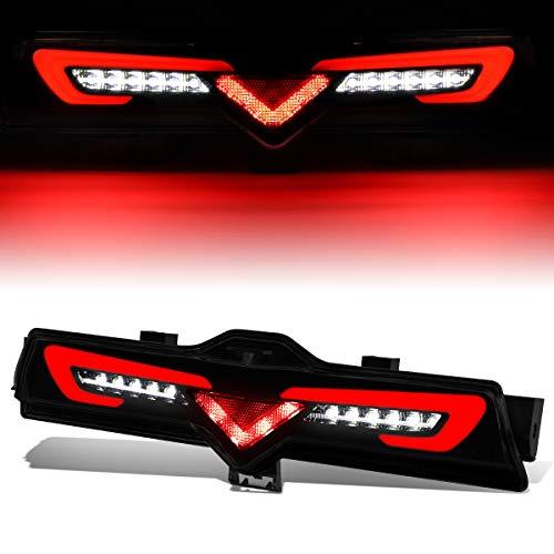 Smoked Lens Rear Bumper Full LED Third/3rd Brake Light Reverse Lamp for 13-18 Scion FRS/86/Subaru BRZ