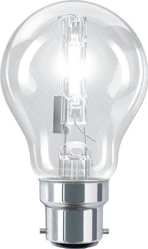 Lot de 10 ampoules /à ba/ïonnette GLS halog/ène 70 W ampoules /à/économie d/énergie