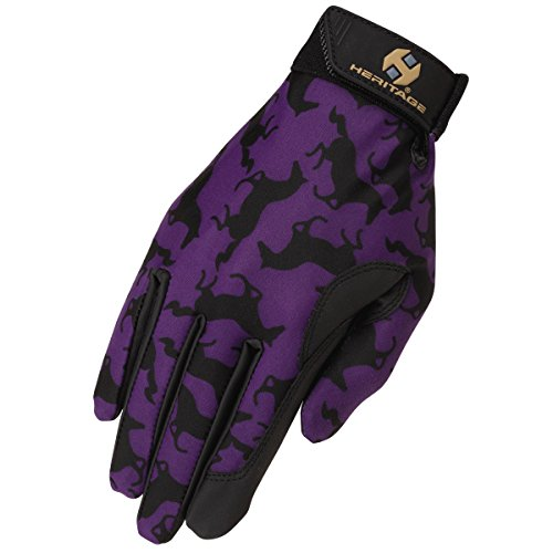 Heritage Performance Gloves, Size 8, Gallop