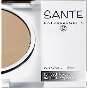 Santé – 2008comp03 – Maquillage – Fonds de Teint et Poudres – Poudre Compacte N°03 Golden Beige – 9 g
