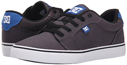 DC Skateboard Shoes ANVIL TX GRAY/GRAY/BLUE Size 7