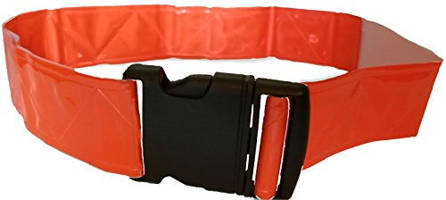 PT Belt - Military Reflective Belt - Glow Belt - Running Belt - Reflective Belt - Orange by VETERAN