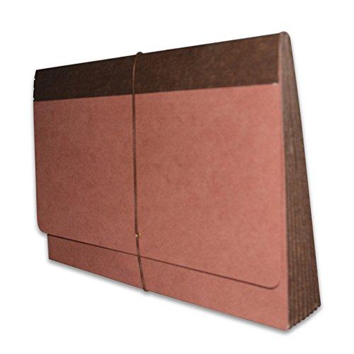 Fibre-Guard Expanding Wallet, File Envelope, Portfolio, Legal Size with 7