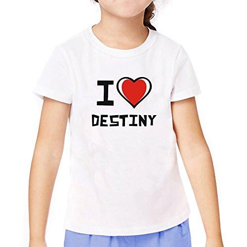 Teeburon love Destiny Girl T-Shirt