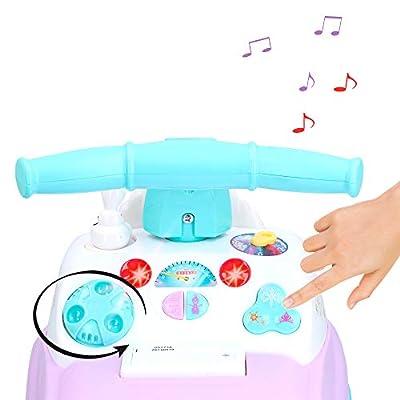Kiddieland Toys Limited Disney's Frozen Light & Sound Activity Ride On: Toys & Games