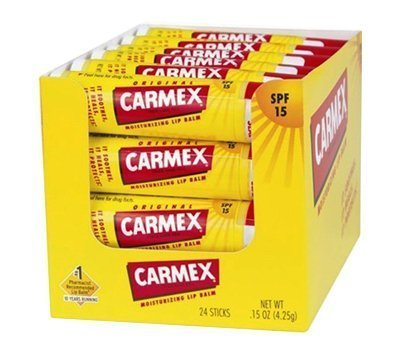.15OZ Carmex Lip Balm, Pack of 24 by Carmex (Image #1)