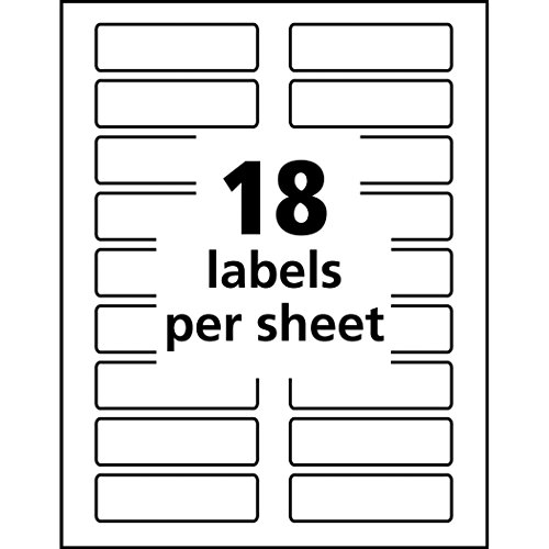 Avery Removable Extra Large File Folder Labels, 1/3 Cut