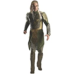 Rubie's Men's Hobbit 2 Desolation Of Smaug Adult Deluxe Legolas, Green, X-Large